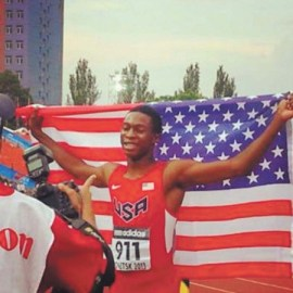 Kenny Selmon at World Competition in Ukraine