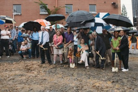 ChristChurch broke ground on its new Buckhead sanctuary yesterday (Photo by Bobbi Jo Brooks Photography)