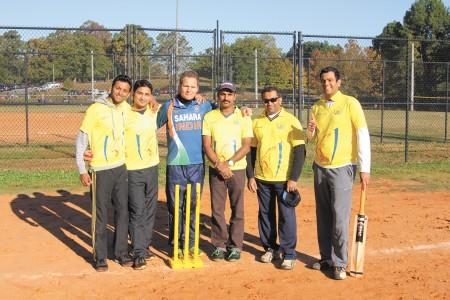 Left to right, Hari Prasad Adinarayanan, Rohan Jain, Derek Kuipers, Ilaiyaraja Rajamohan, Pravinkumar Nallamaruthamuthu and Jai Varadarajan.