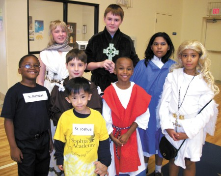 all saints day_group picture Sophia Acad BHAVEN