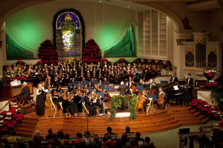 A shot of the annual Nicholas Bowden and Friends concert. Photo courtesy of The Lowell Group.