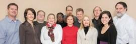 Our staff, from left: Chris North, Amy Arno, Collin Kelley, Susan Lesesne, Deborah Davis, Janet Porter, David Burleson, Steve Levene, Lenie Sacks, Walter Czachowski, Melissa Weinman, Joe Earle.