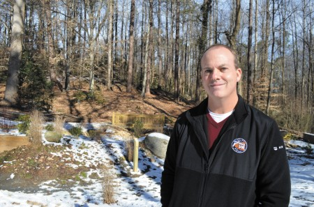 """Alan Mothner, executive director of the Dunwoody Nature Center, is """"creative and flexible, always exploring new ideas and pursuing new venues of value,"""" says Su Ellis, the center's president."""