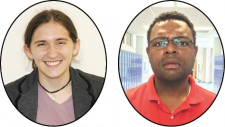 Chamblee Charter High School Mollie Simon, STAR student Christopher Y. Smith, STAR teacher