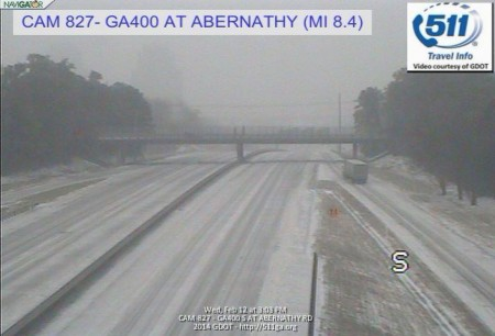 Georgia 400 at Abernathy