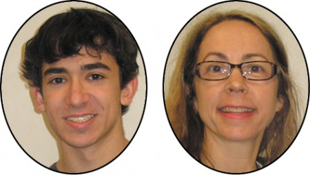 North Springs Charter High School Jake Busby, STAR student Jan Arnette, STAR teacher