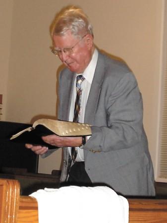 Pastor Edward Cagle