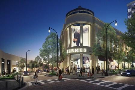 Hermes is shown is this new rendering from Buckhead Atlanta.