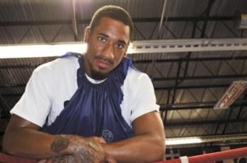 """Boxing champion Demetrius """"Boo Boo"""" Andrade"""