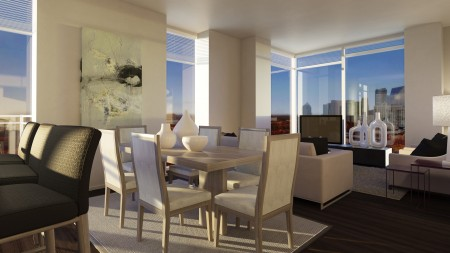 The Residence Buckhead Atlanta offers 370 luxury high-rise apartment homes, and will be ready for residents this fall. Atlanta was recently named the third fastest growing city for renters in the country.