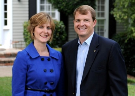 Caroline and Kent Gipson have different skill sets that contribute to a successful partnership.