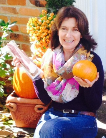 """Robin says she """"respects"""" pumpkins."""