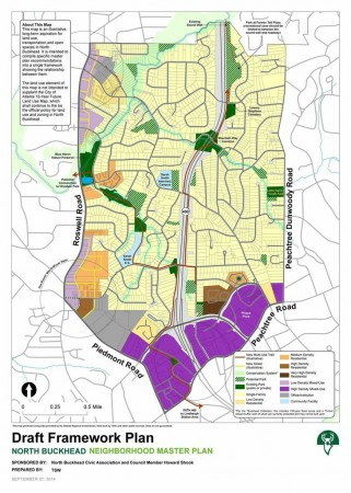 Consultants working with the North Buckhead Civic Association are proposing new sidewalks, trails, bike paths and other changes in the area.