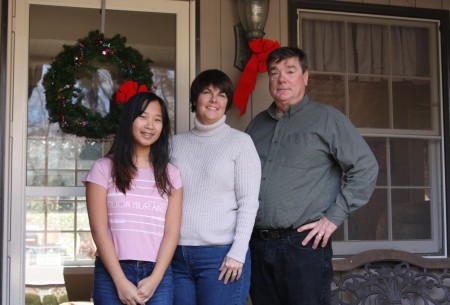 Jennifer, Kim and Alan Wilson moved to Kingsley in April 1998, three weeks before the tornado hit.