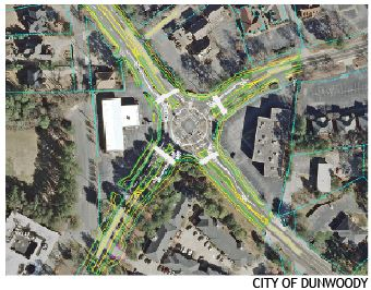 Options are being considered to resolve traffic issues near the Georgetown Gateway project.