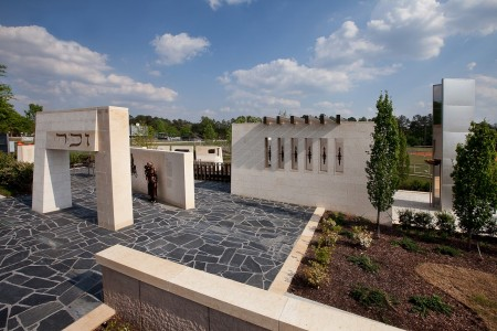 The Besser Memorial photographed by Chris Savas.
