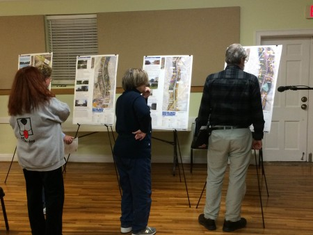 About 200 residents as well as city officials gathered at Winters Chapel United Methodist Church on Feb. 24 to discuss development plans for the area.