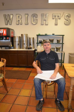 Matt Wright's business, The Wright Gourmet Shoppe, has been around 31 years, and has become a Dunwoody institution.