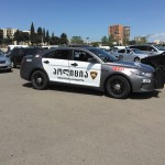 Police in the Republic of Georgia are seen everywhere, but have little interaction with the public.