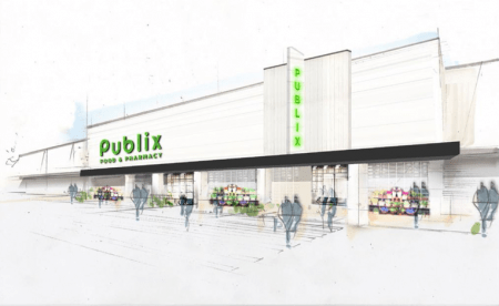 Moore's Mill Publix rendering