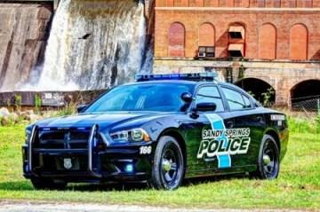 sandy springs police car