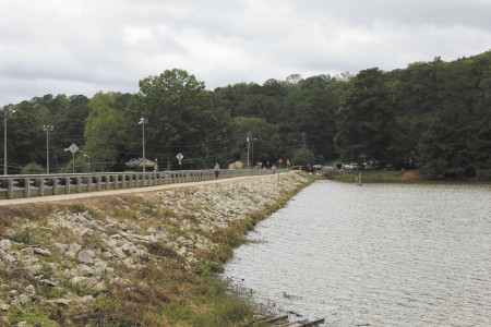 The last report on Murphey Candler Lake Dam, built in 1953, outlined relatively minor maintenance issues.