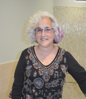 Alice Wertheim, president of the board of directors of the mikvah, says the facility is a 'sacred space.'