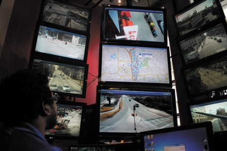 The Atlanta Police Department's Video Integration Center uses strategically placed surveillance cameras to deter crime and capture incidents as they happen.