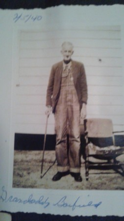 A photo identified as William Monroe Barfield, the last owner of the Barfield family property on Barfield Road, according to Nancy Kite. (Special)