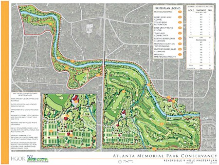 Bobby Jones Atl Mem Park master plan