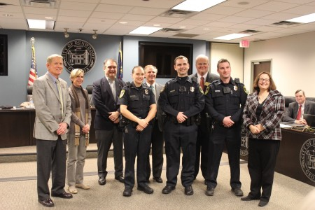 Dunwoody new police officers