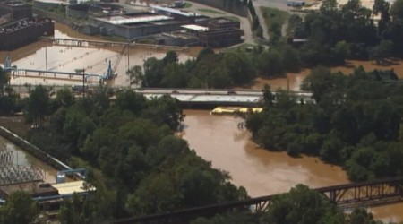 The epic flood of September 2009 deluged the city of Atlanta's R.M. Clayton sewage treatment plant on the Chattahoochee with up to 15 feet of water.