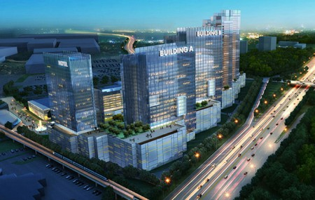 Dunwoody Crown Towers is proposed to go in the old Gold Kist site.