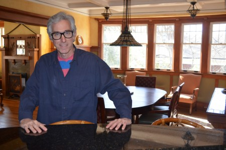 Andrew Fenlon has seen a lot of changes in his Peachtree Hills neighborhood over the last 35 years. (Photo Joe Earle)