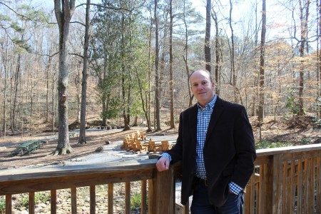 Dunwoody Nature Center Executive Director Alan Mothner said a master plan to handle the Center's continuing growth is underway. (Photo Dyana Bagby)