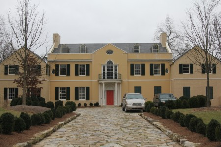 The Schutze-designed 1932 Goodrum House at 320 West Paces Ferry Road in Buckhead. (Photo John Ruch)