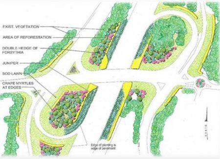 A plan to beautify the Ga. 400/Northridge Parkway interchange with landscaping is among Sandy Springs' possible fiscal 2017 projects.