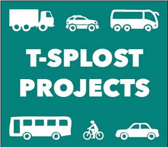 The city of Sandy Springs' T-SPLOST projects logo.