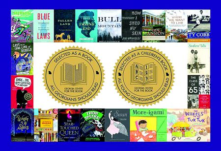 A collage of some books on this year's list.