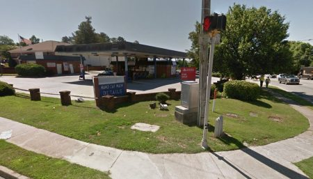 Developers are seeking to replace this car wash at the corner of Chamblee-Dunwoody Road and Mount Vernon Road with a restaurant/retail building. (Google maps)