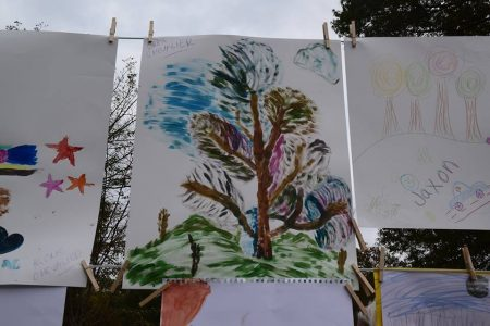 Examples of 'Paint the Park' artwork. (City of Brookhaven)