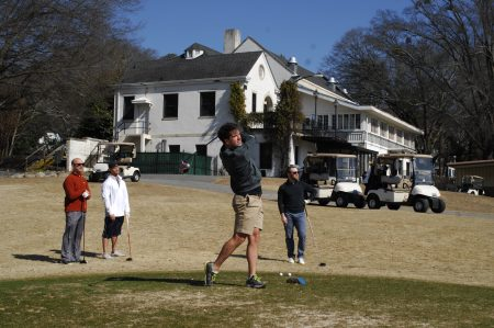 Golfers play at Bobby Jones Golf Course in 2015. (File Photo by Phil Mosier)
