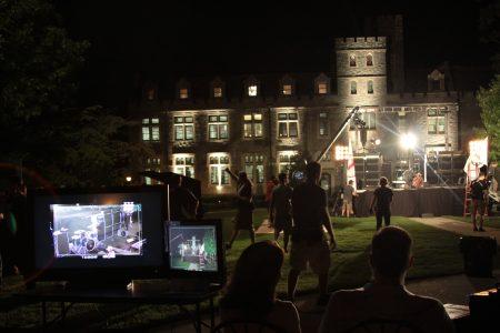 "Filming of the Cartoon Network series ""Tower Prep"" at Oglethorpe University in 2010."