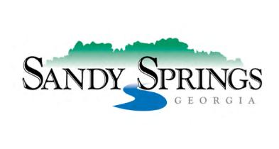 The former Sandy Springs city logo.