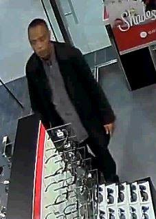This man is suspected of stealing a pair of sunglasses from Sunglass Hut in Perimeter Mall. (Dunwoody Police)