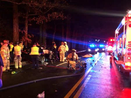 Brookhaven Police responded to a fatal wreck early Sunday morning on Clairmont Road. (Brookhaven Police Facebook)