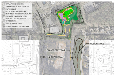perimeter center park east concept plan