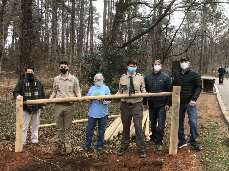 Eagle Scout project at Lost Corner