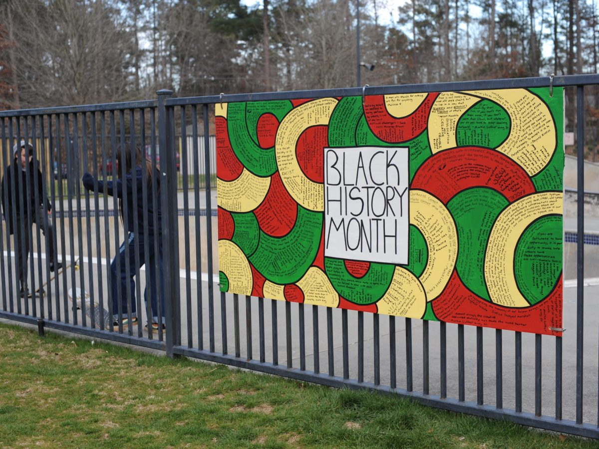 black history month mural in Atlanta