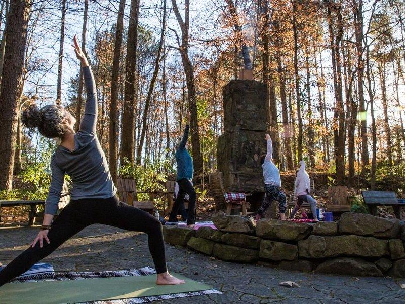 Dunwoody Nature Center Yoga classes